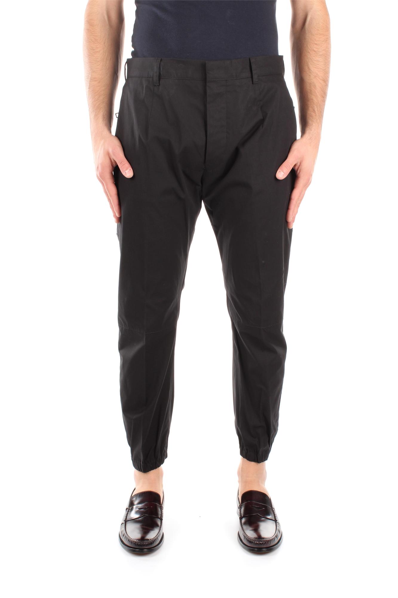 Pantaloni-Prada-Uomo-SPF33NERO