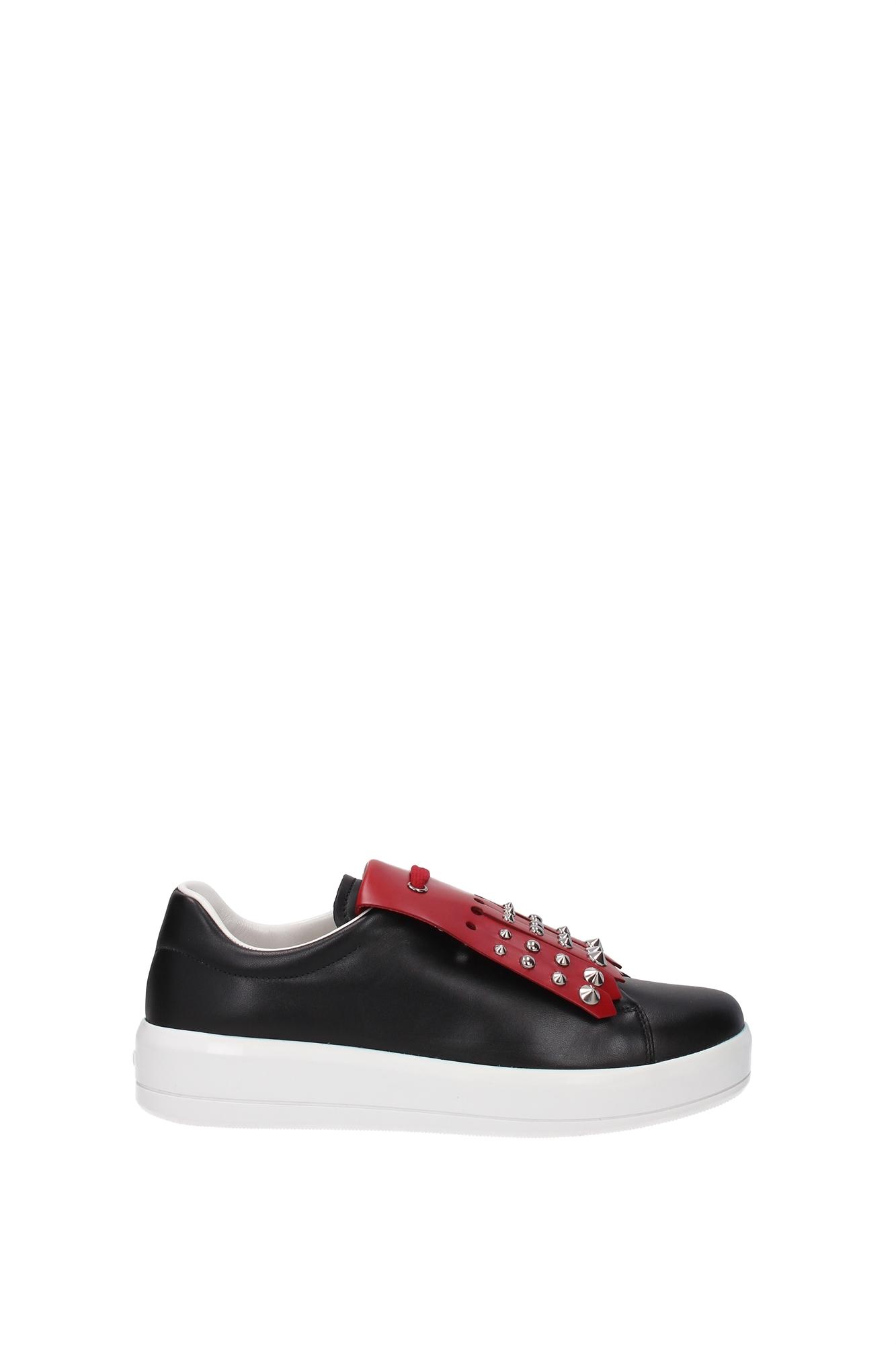 Sneakers-Prada-Donna-1E142HNEROROSSO