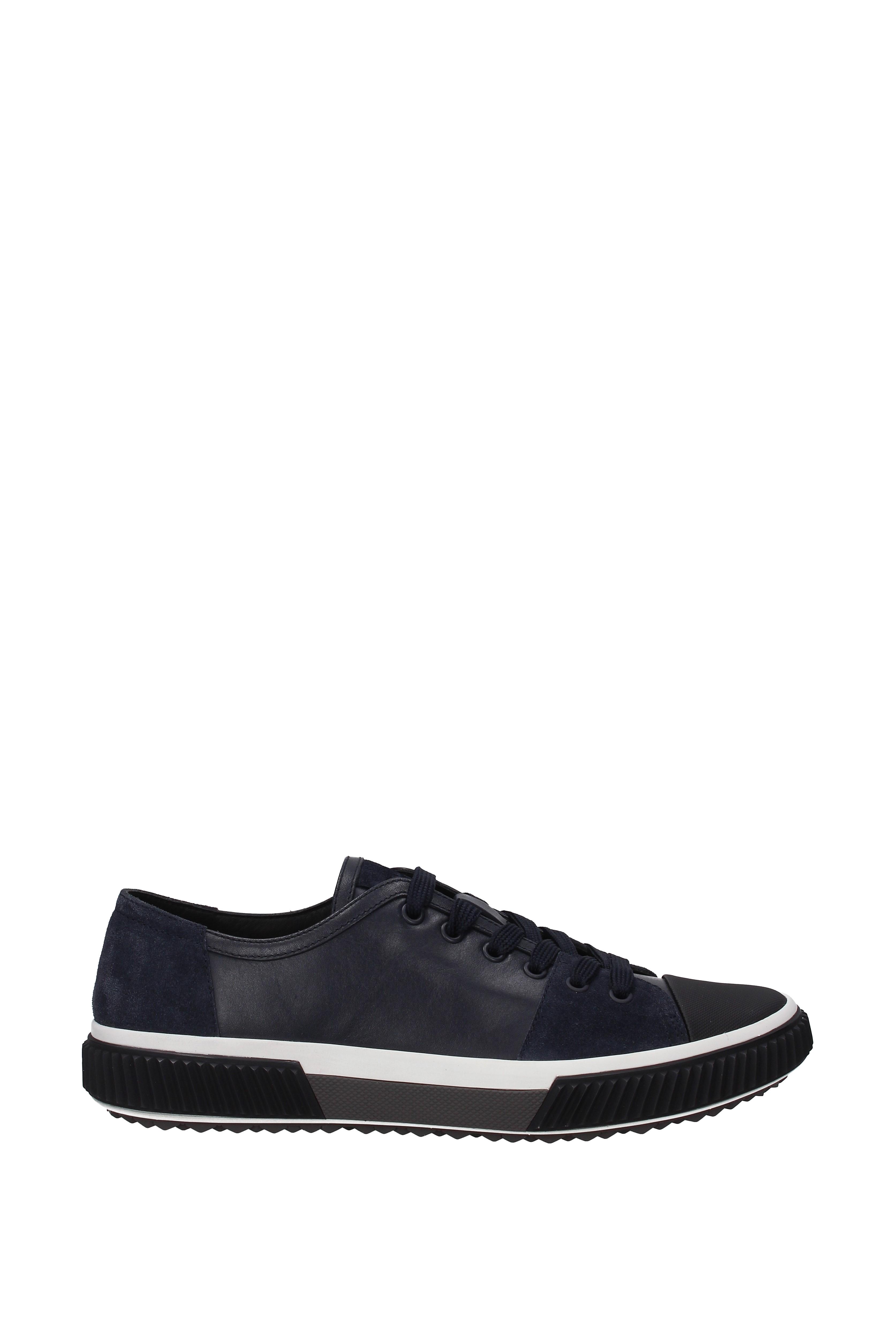 Sneakers-Prada-Uomo-Pelle-4E3058PLUMESCAMOSCI