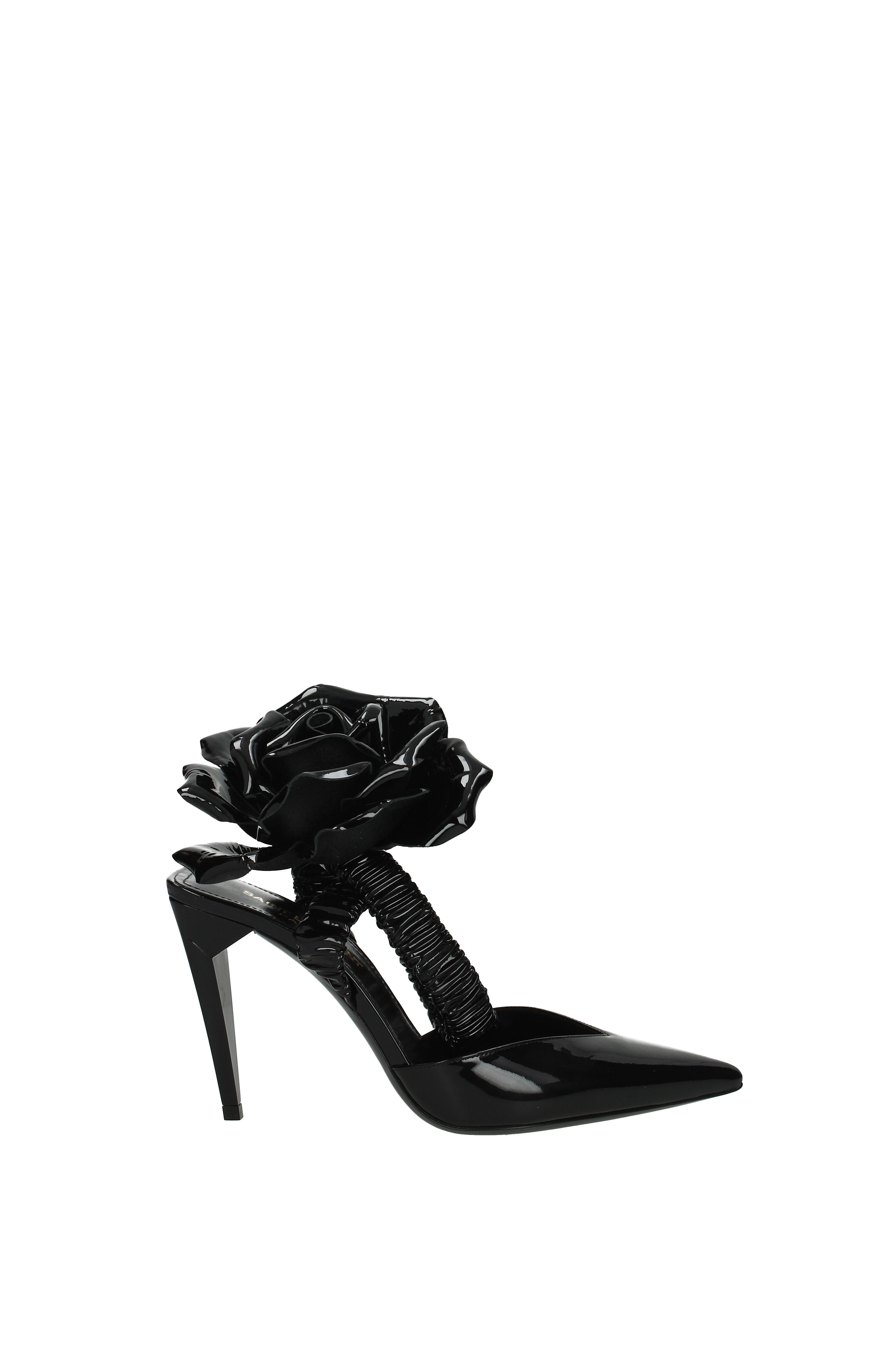 Sandali Saint Laurent freja Donna - Vernice (493870D6C00)  f436f76c4f8
