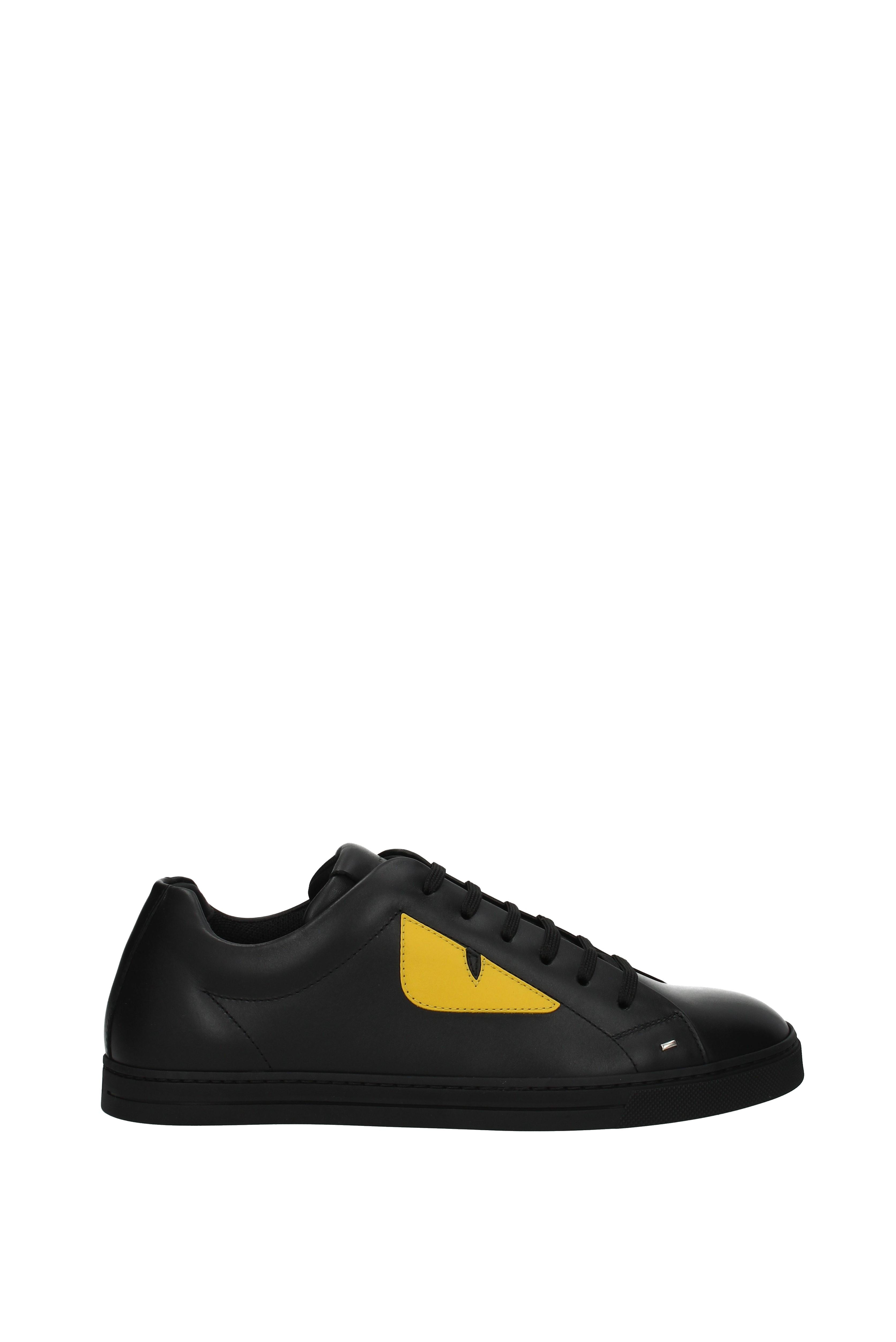Homme Femme Sneakers Fendi Uomo - - - Pelle (7E1071TTY) Mode moderne et élégante À un prix inférieur Chaussures de marée vintage   à L'aise  81452b