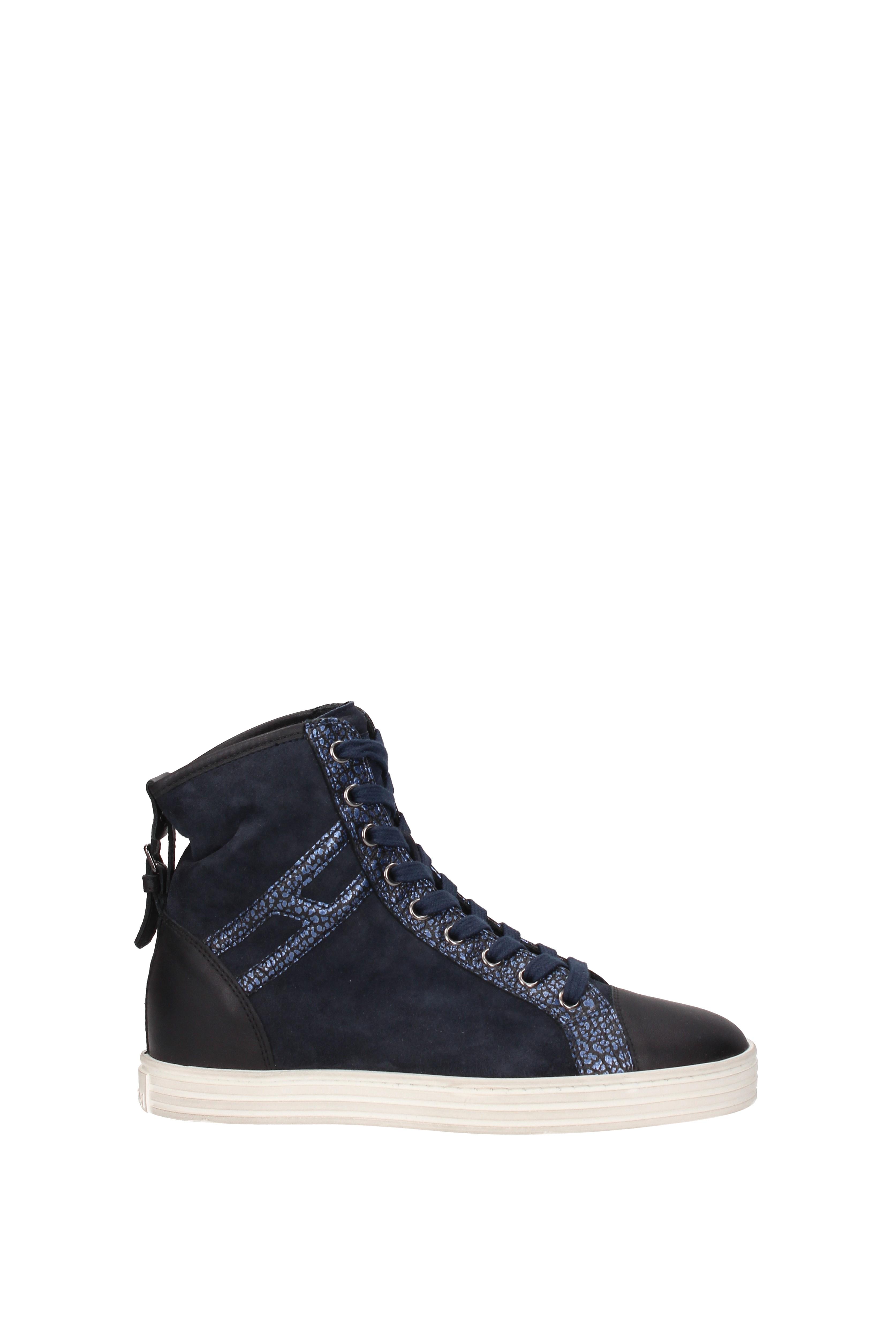 Sneakers Hogan rebel Donna Camoscio HXW1820D661EJA - duradrusti.org e09130f3ed8