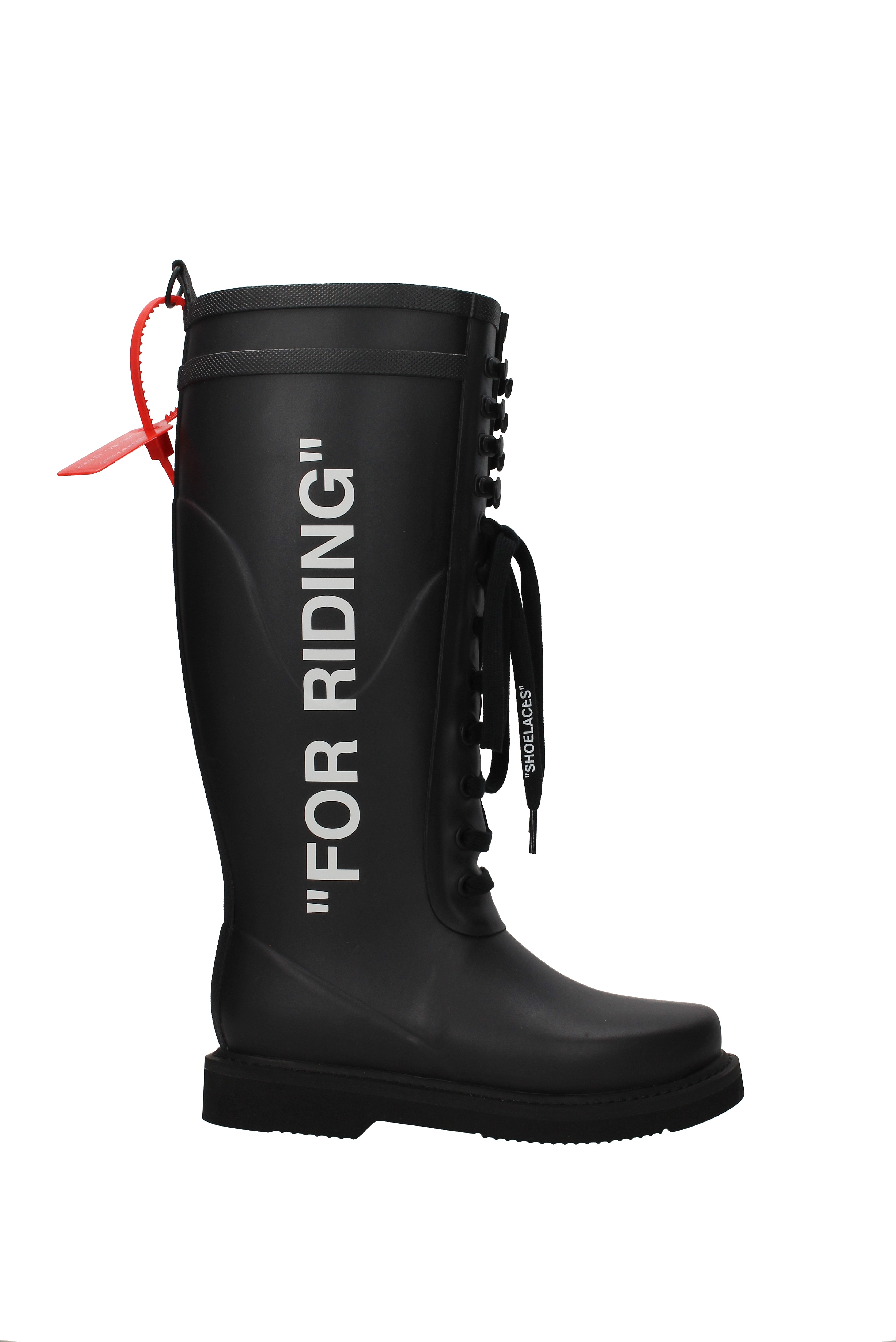 Donna Riding Stivali Off white Welly owia133f18b82085 Gomma For wqFfvCcH