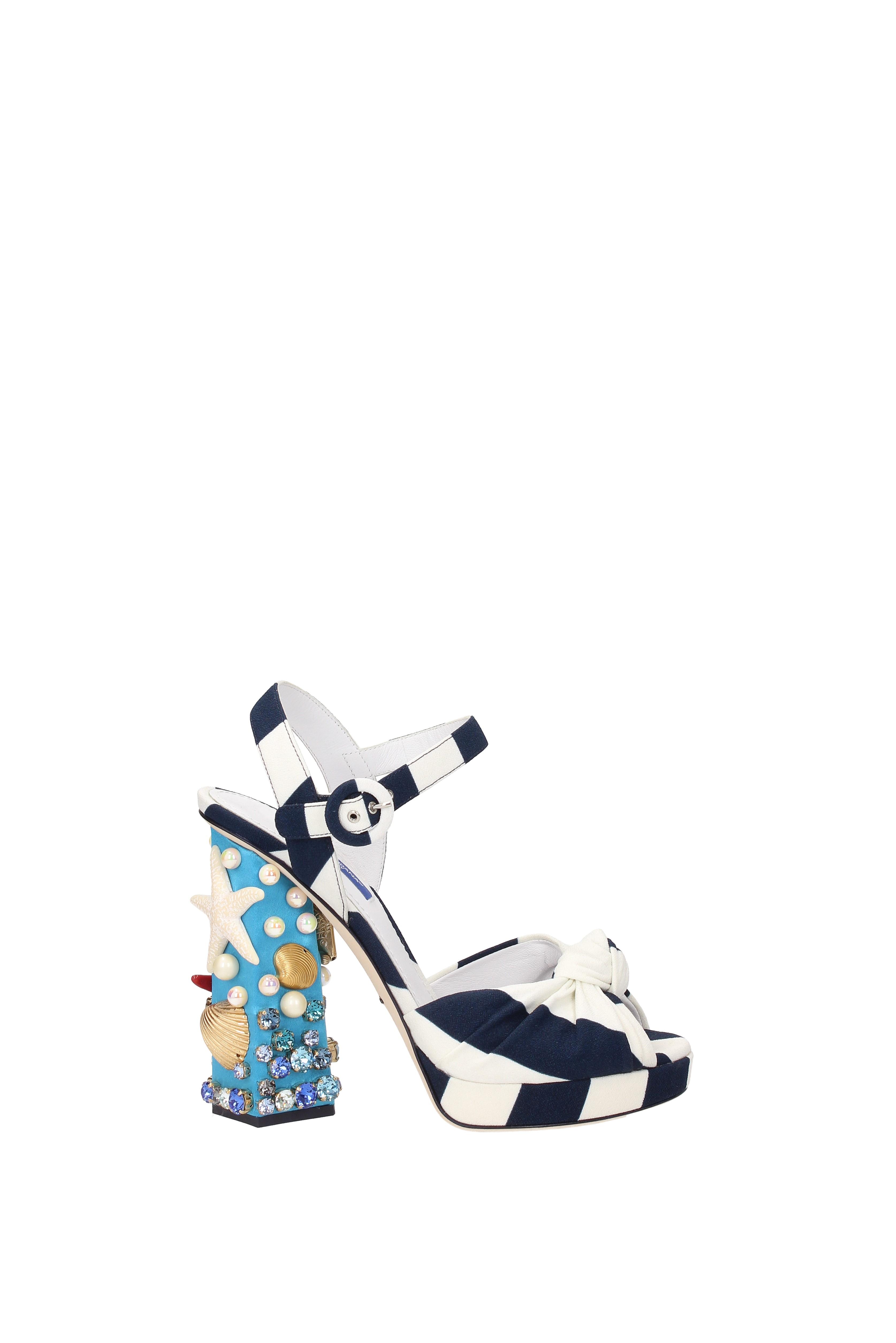 Sandalo  Dolce&Gabbana Donna  Sandalo Donna Tessuto (CR0286AG200) 3a54c2   009907