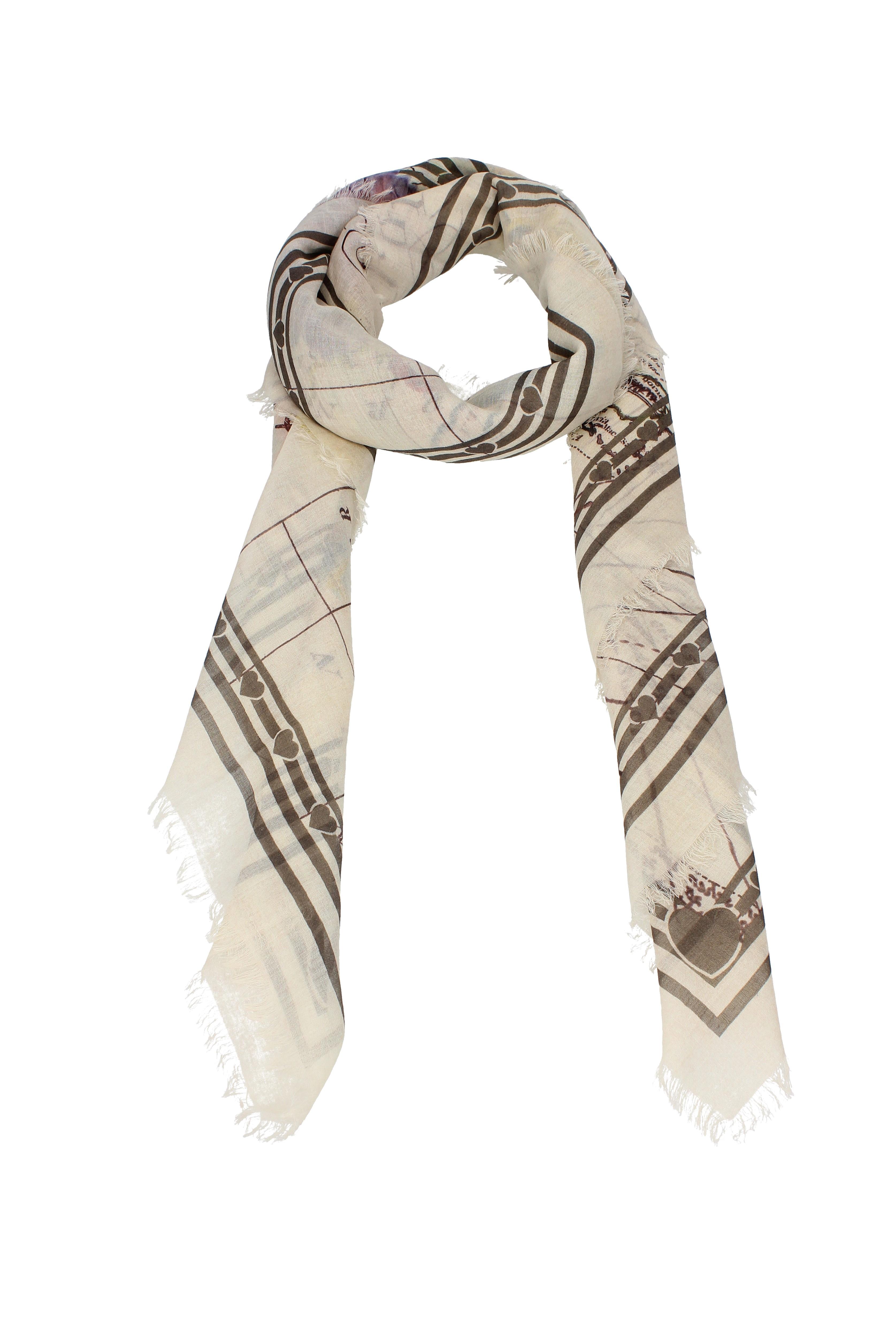 Foulard Gucci Donna - Seta (4559423G646)  3b393f02547