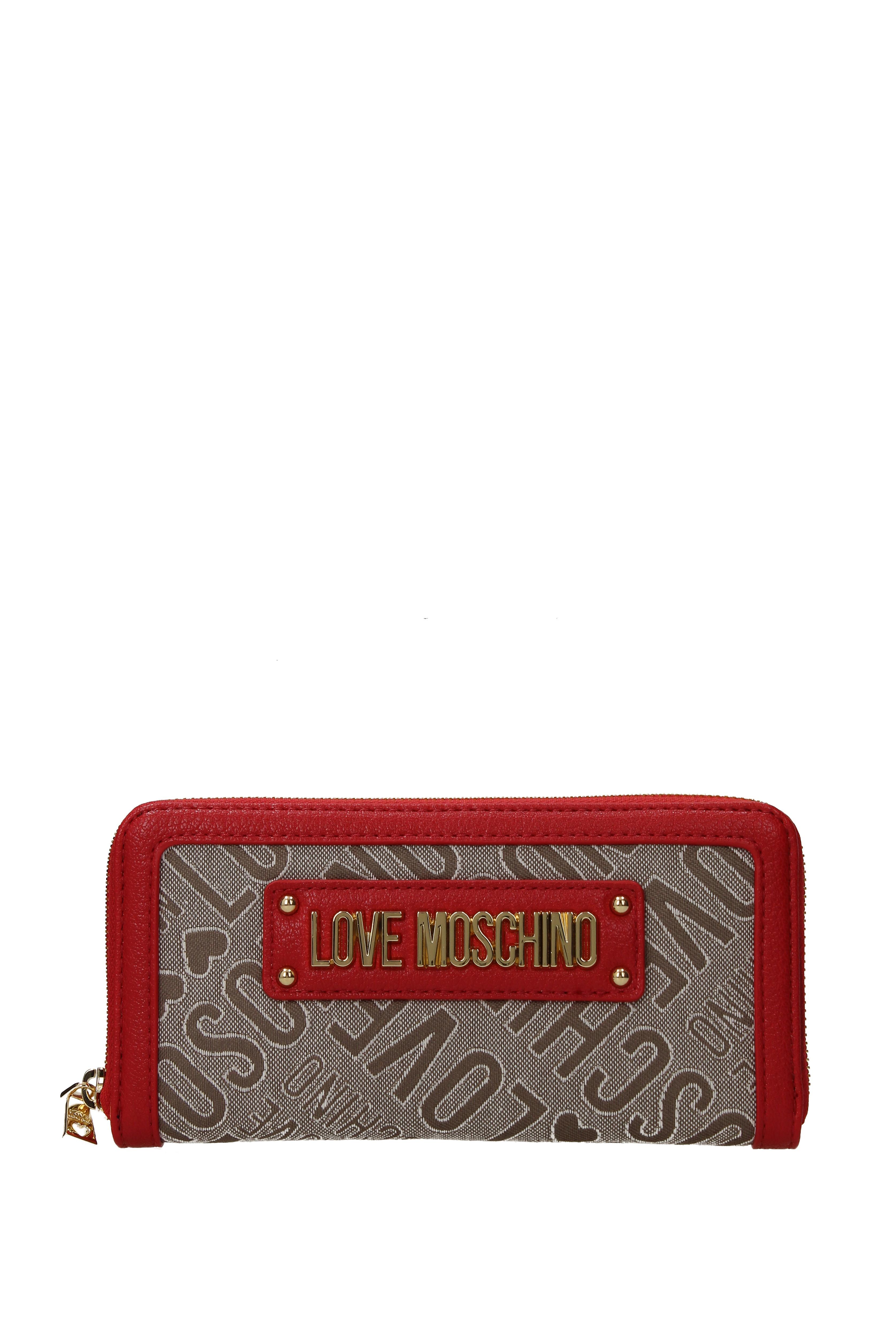 Donna jc5617pp17lc1 Love Tessuto Moschino Portafogli EZHY8qxwzH
