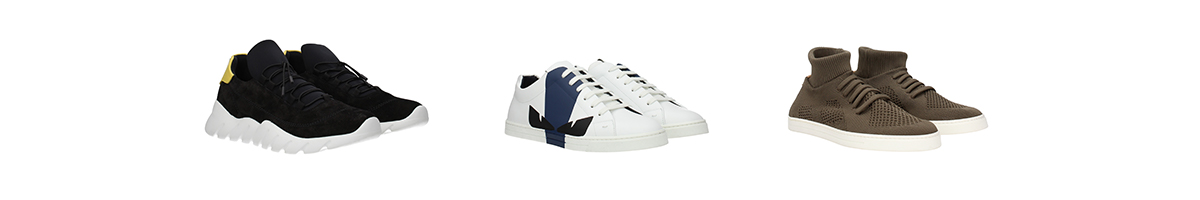 sneakers fendi uomo